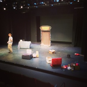 Thom Wall & Benjamin Domask - The Dinner and a Show Show - Tech Rehearsal - City Stage at  Union Station, Kansas City