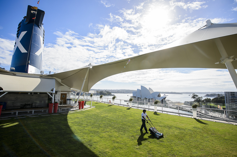 Celebrity Solstice Lawn
