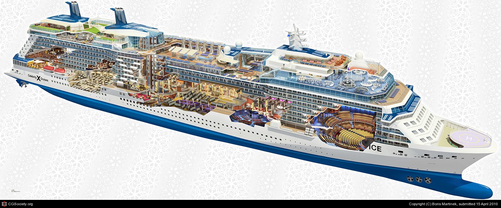 Image Gallery Ship Cutaway
